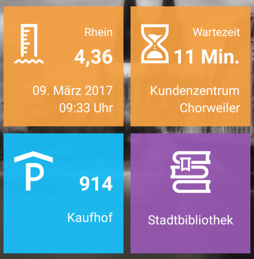 Screenshot Live-kacheln
