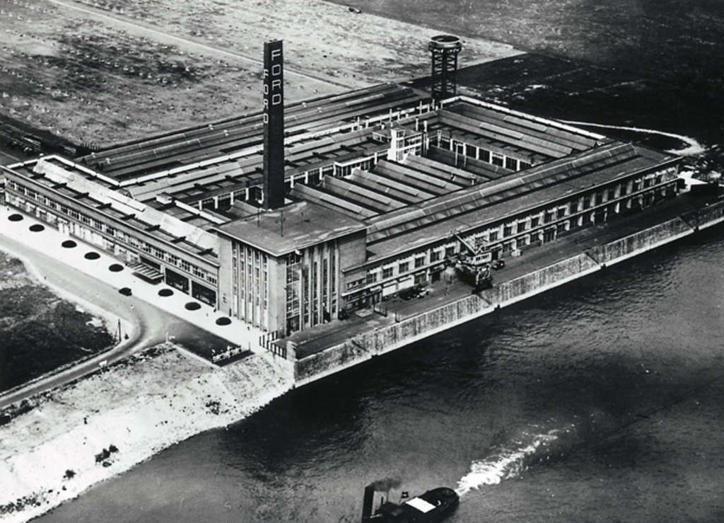 Ford Werk in Niehl, 1931