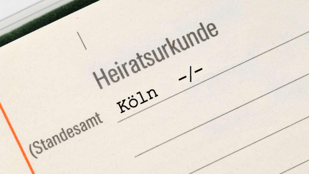 Urkundenservice des Standesamtes - Stadt Köln