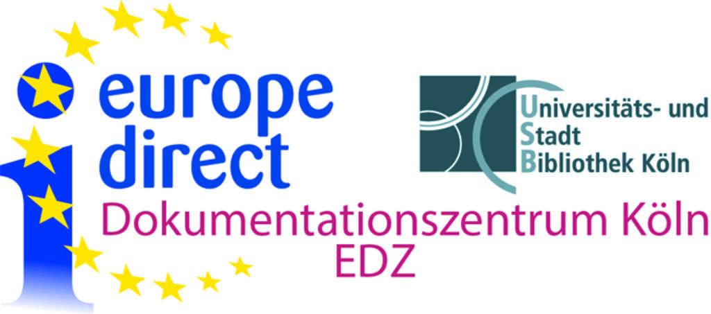 Logo europe direct Dokumentationszentrum Köln EDZ