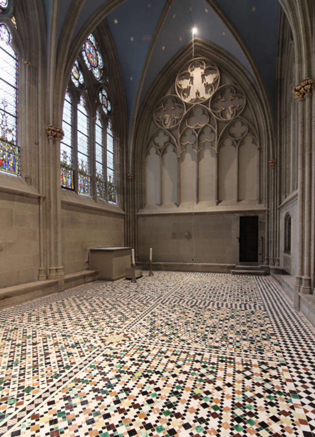farbe und liturgischer raum das sakrarium von 1315 in sankt gereon stadt k ln. Black Bedroom Furniture Sets. Home Design Ideas