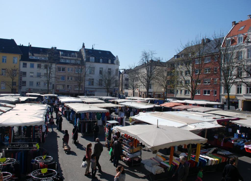 Nippes Wilhelmplatz Stadt Köln