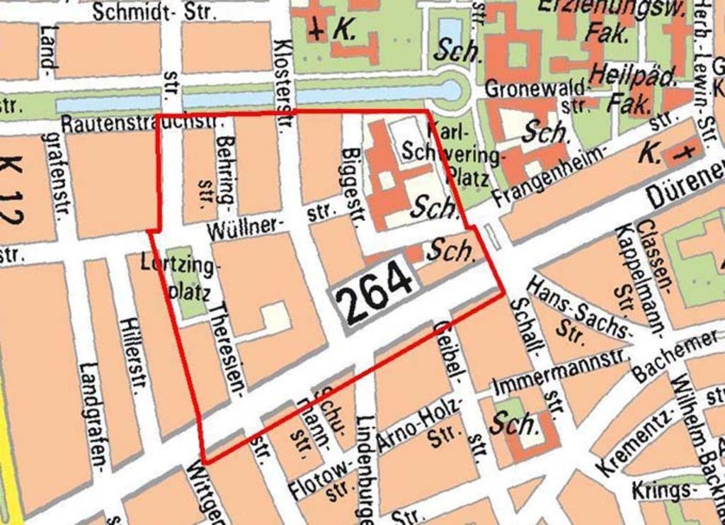 Bombenfund Köln Lindenthal