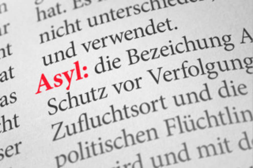 Textpassage Definition Asyl, © Boris Zerwann