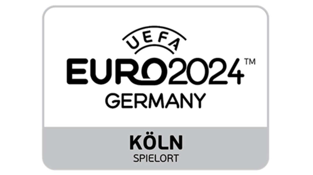 Logo EURO 2024, Link auf UEFA EURO 2024 – United by Football