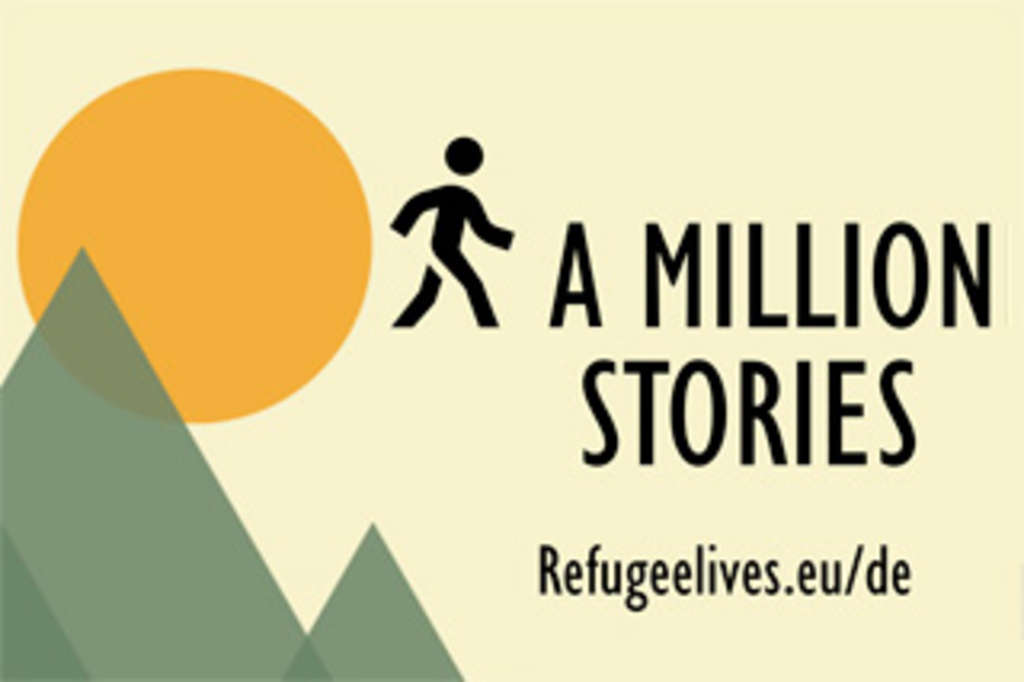 Logo Refugeelive.eu - A Million Stories, © roskilde