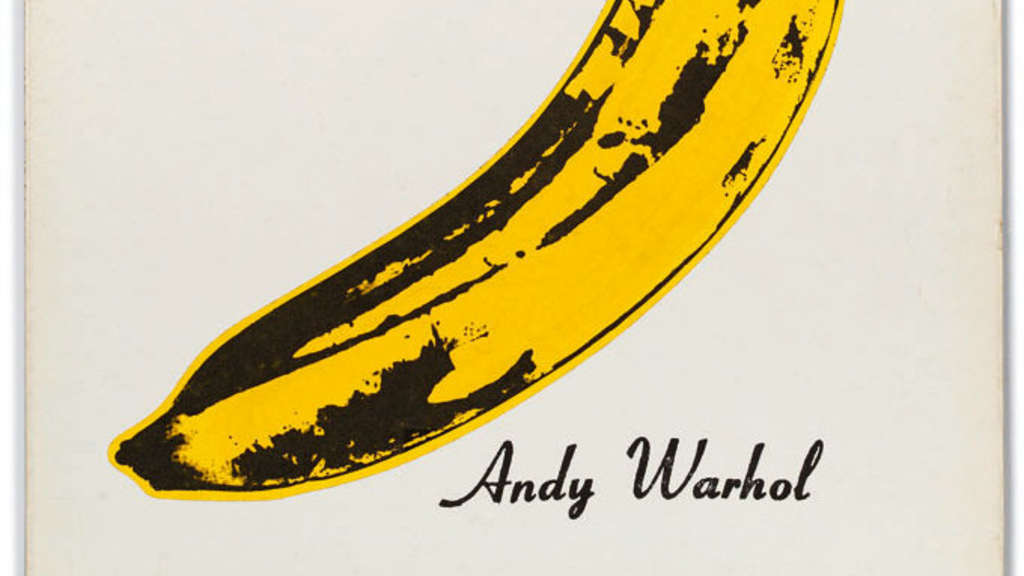 Andy Warhol: The Velvet Underground & Nico, 1967, Plattencover