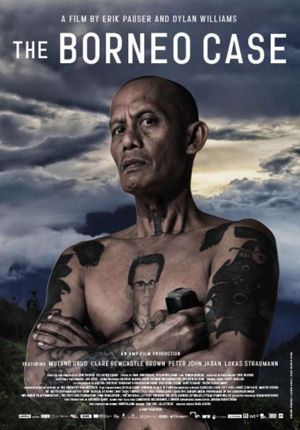 The Borneo Case - Filmplakat