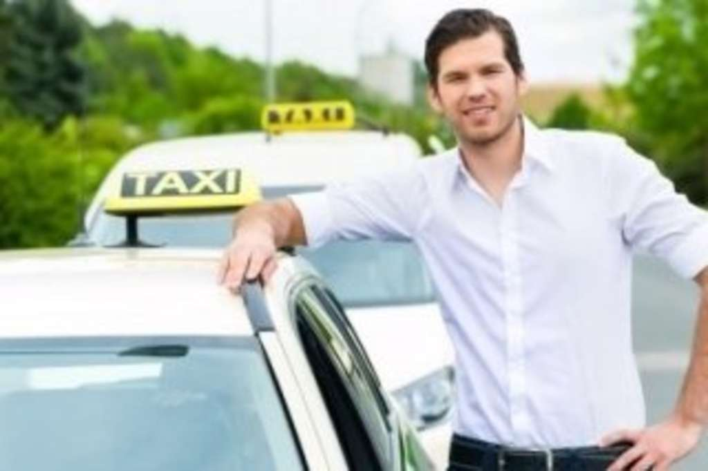 Taxifahrer, Link auf Taxi-Genehmigung