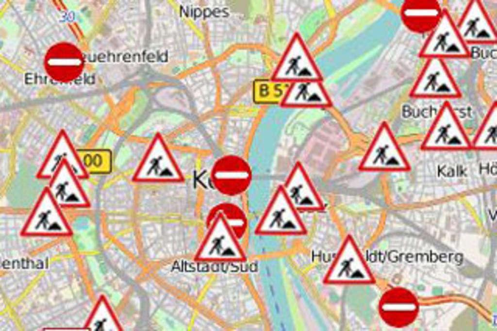 Verkehrslage In Köln