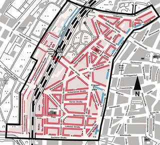 belgisches viertel köln karte Belgisches Viertel Köln Karte   goudenelftal belgisches viertel köln karte