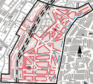 belgisches viertel köln karte Bewohnerparken Belgisches Viertel   Stadt Köln belgisches viertel köln karte
