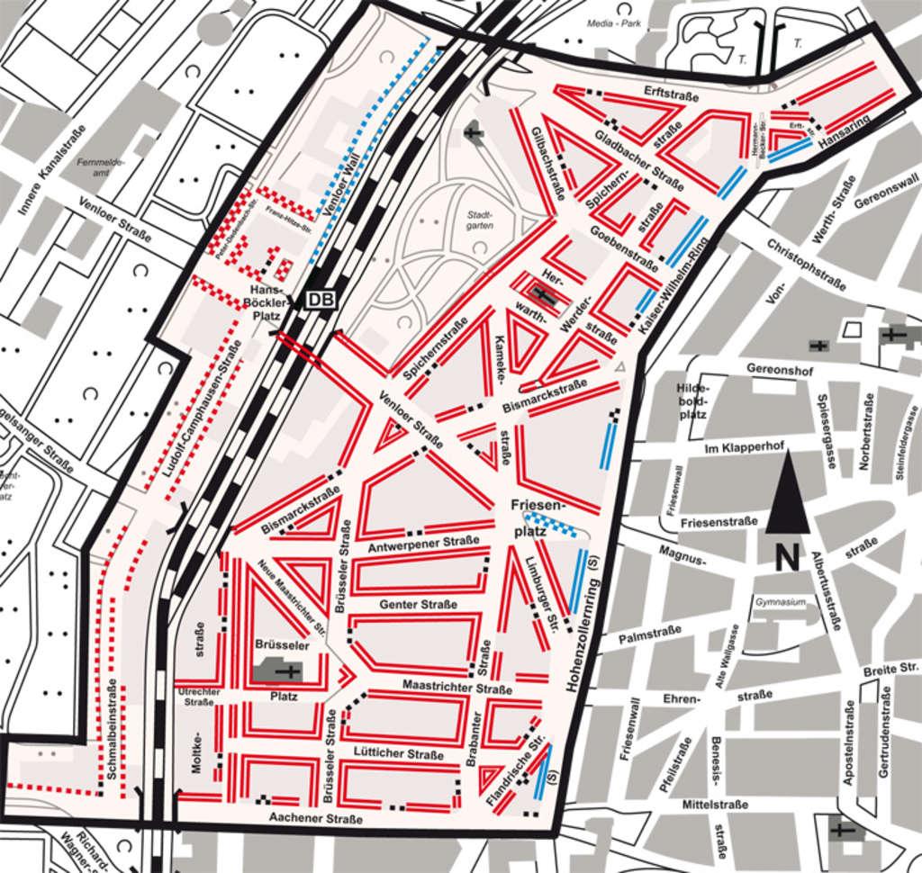 bewohnerparken belgisches viertel stadt k ln. Black Bedroom Furniture Sets. Home Design Ideas
