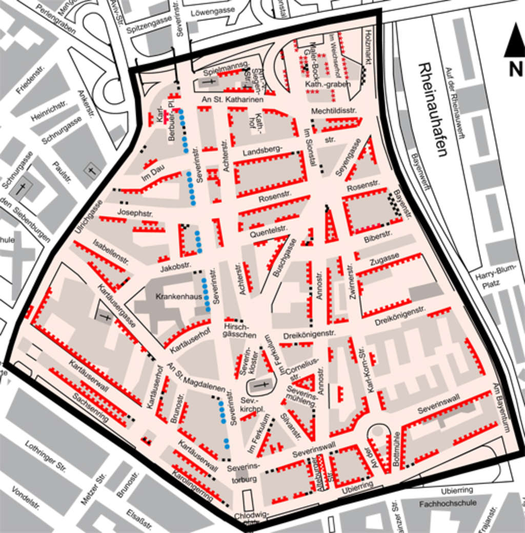 Severinsviertel Köln