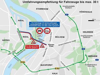 Sanierung Der Mülheimer Brücke Stadt Köln