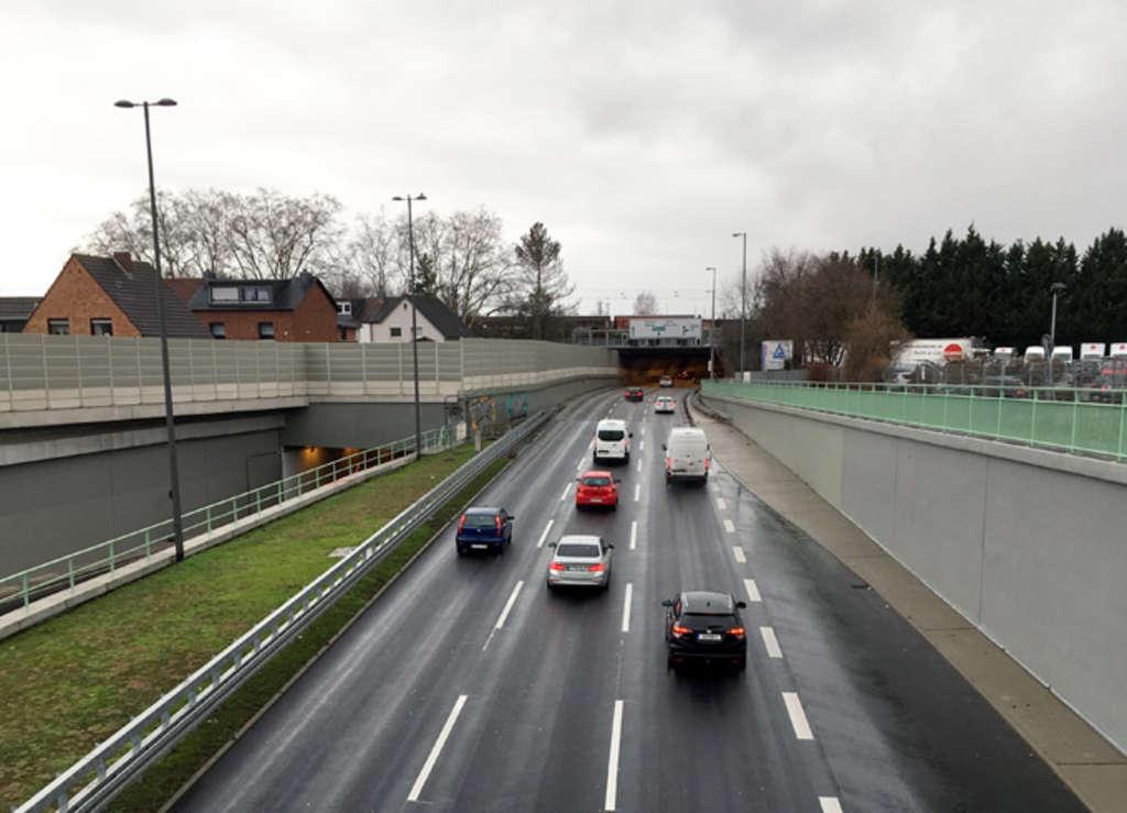 Kalker Tunnel Fertigstellung