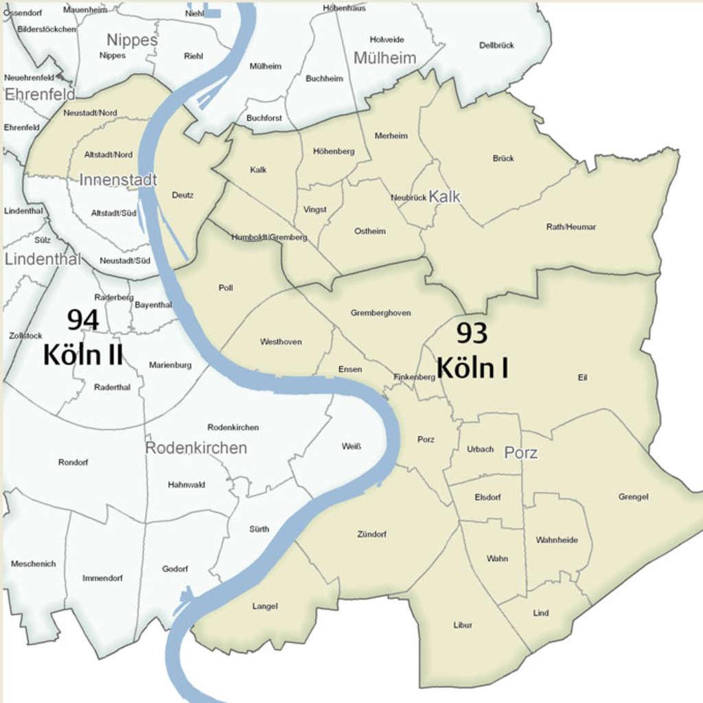 Wahlkreis Köln I
