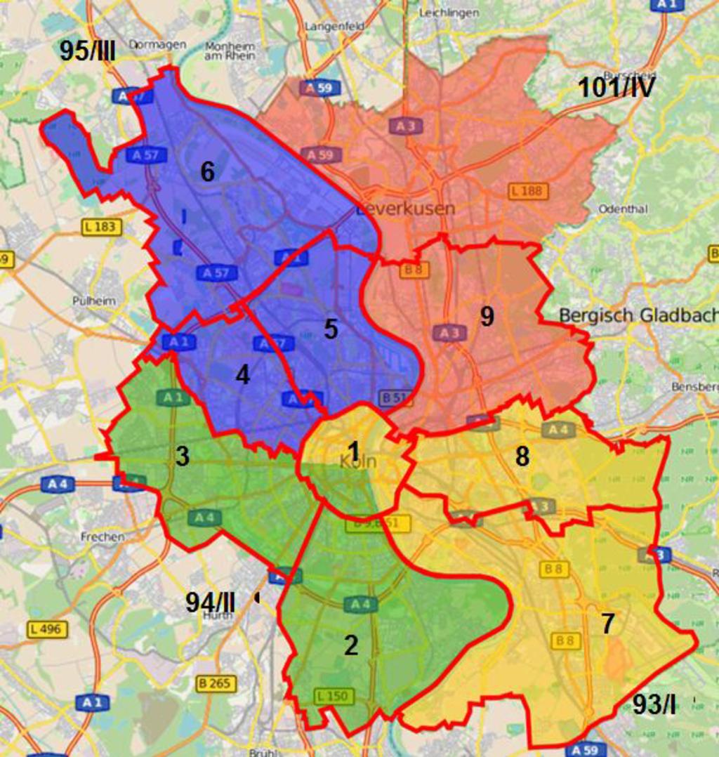 Stadt Köln Wahlen