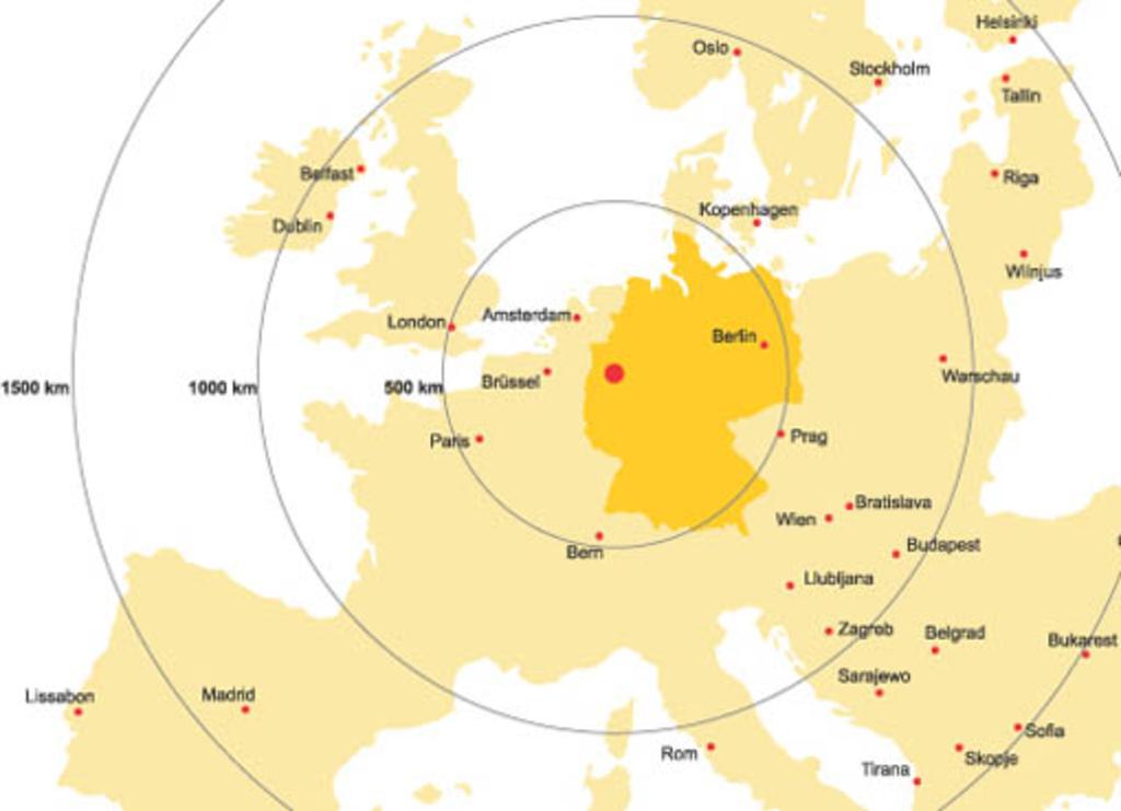 Köln Karte Deutschland.Beste Lage Und Anbindung Stadt Köln