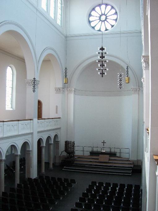 Evangelische trinitatiskirche stadt k ln for Innenraum planen