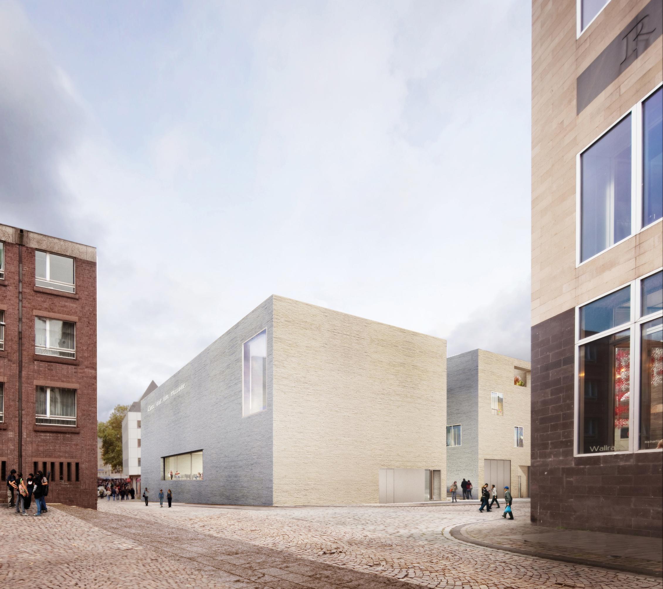 erweiterung des wallraf richartz museums fondation corboud stadt k ln. Black Bedroom Furniture Sets. Home Design Ideas