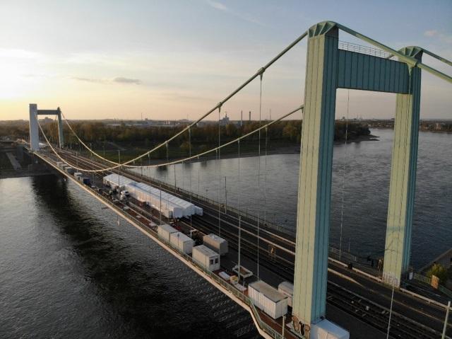 Mülheimer Brücke Sanierung