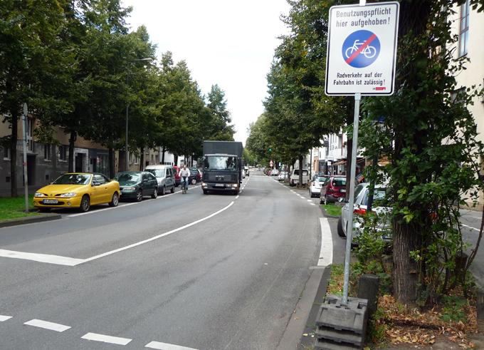 Radwege Köln